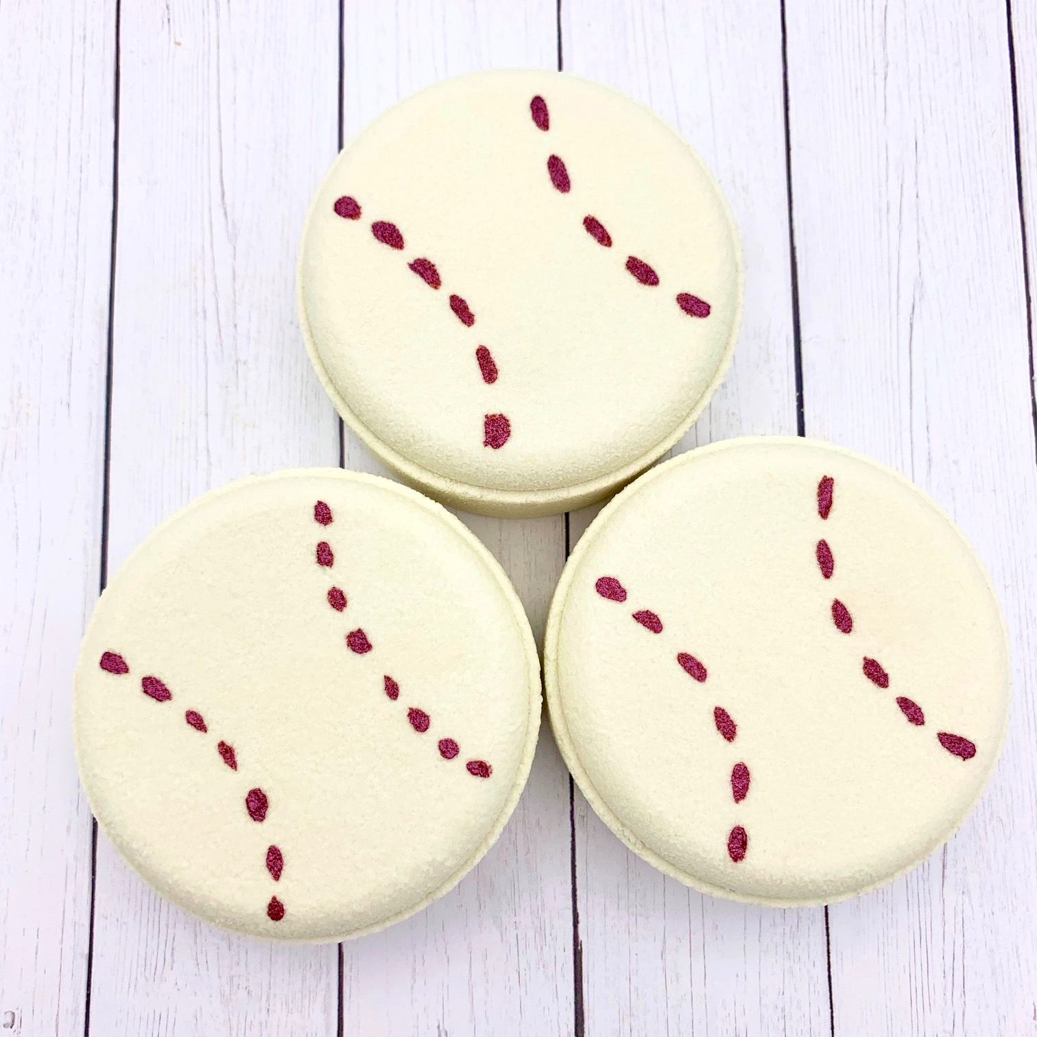 Baseball Bath Bombs by Robyn