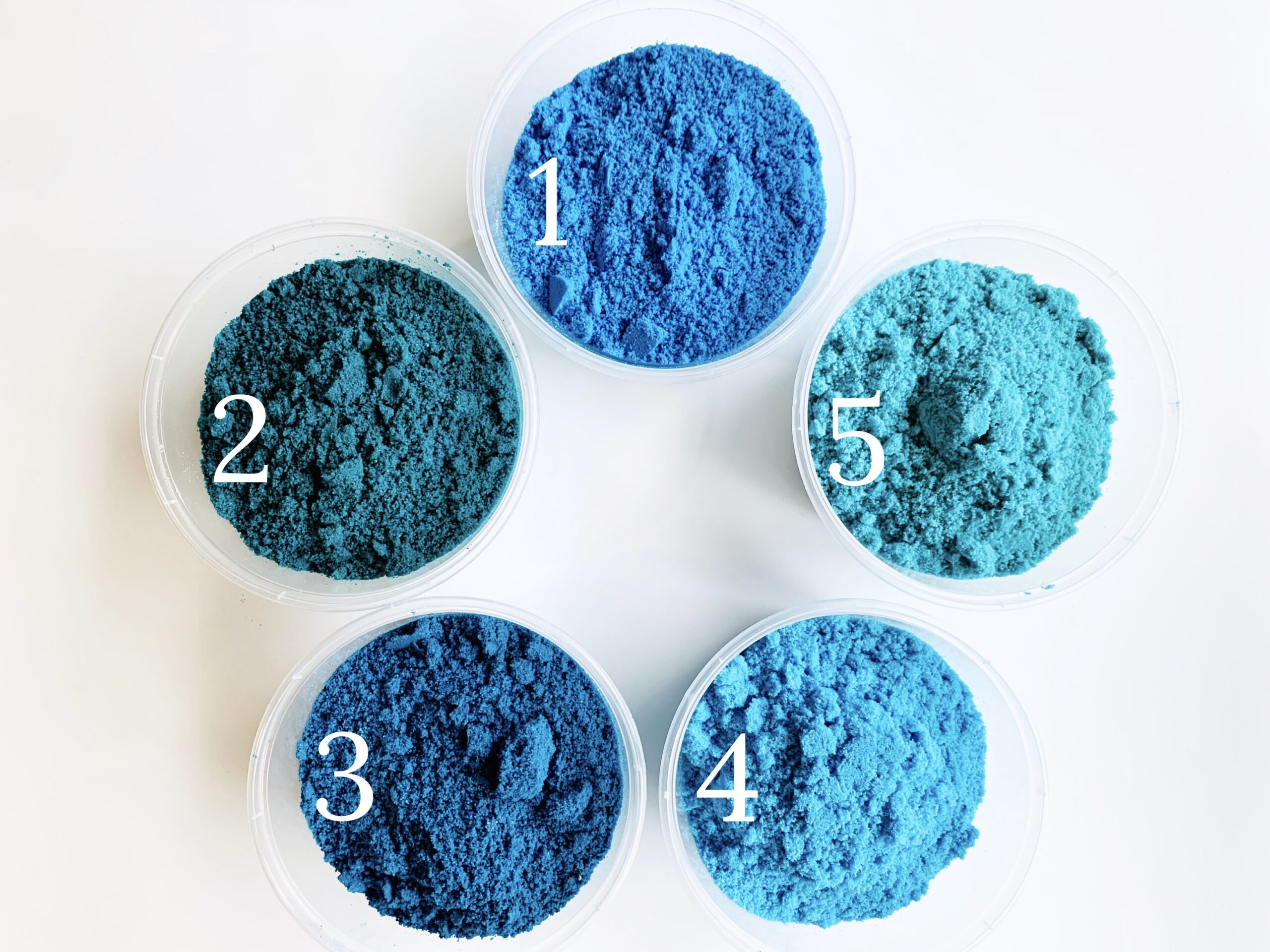 STUDY IN BLUE: Creating the Perfect Blue in Bath Bombs by Robyn