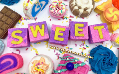 Junk Food Challenge – Salty and Sweet Bath Bomb and Bubble Bar Inspiration